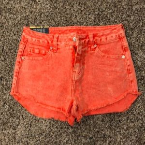 With Tags, High Waisted Shorts